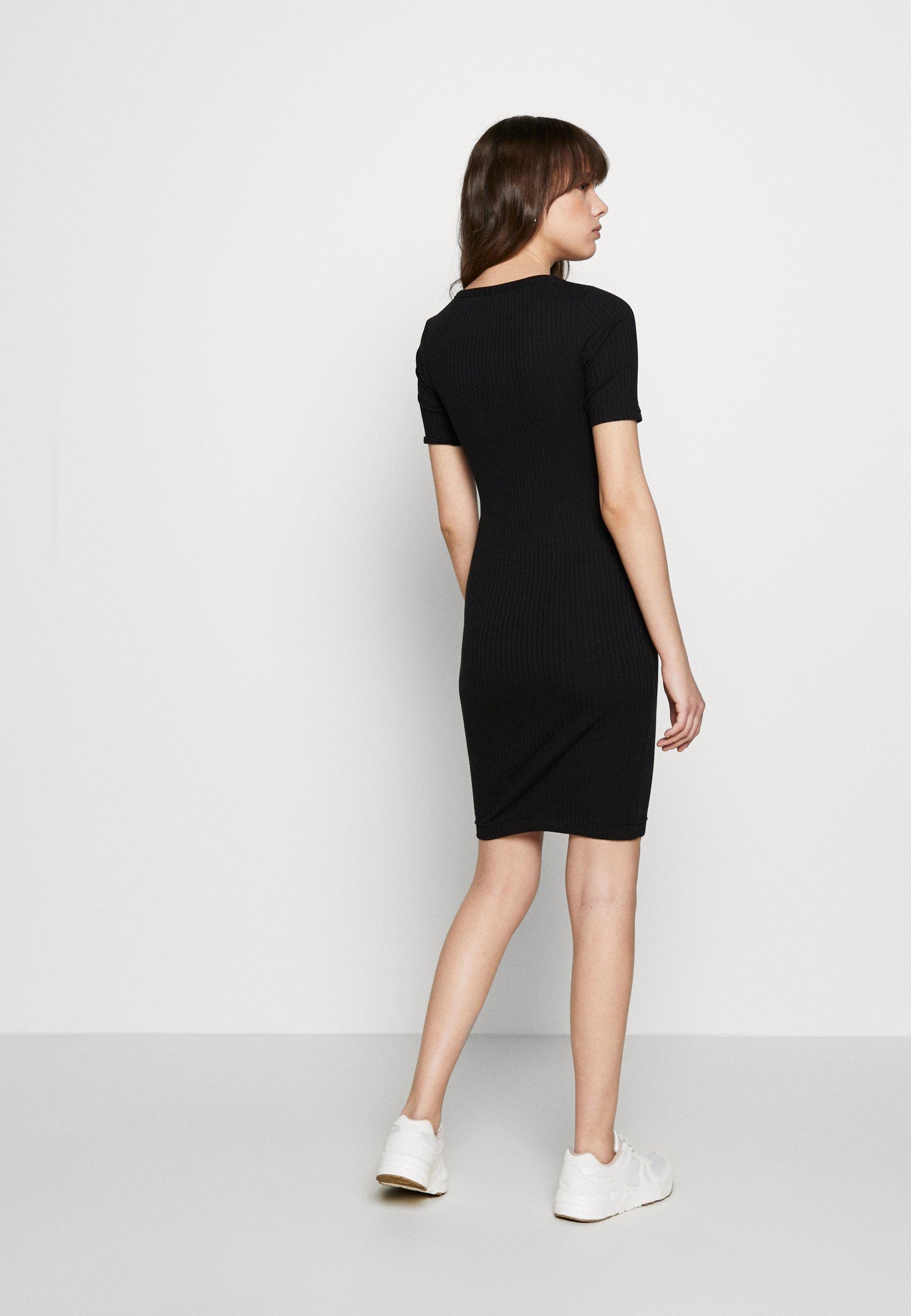 Banana Republic Solid - Shift Dress Black