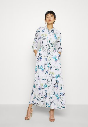 SAVANNAH PRINTS - Maxi-jurk - white