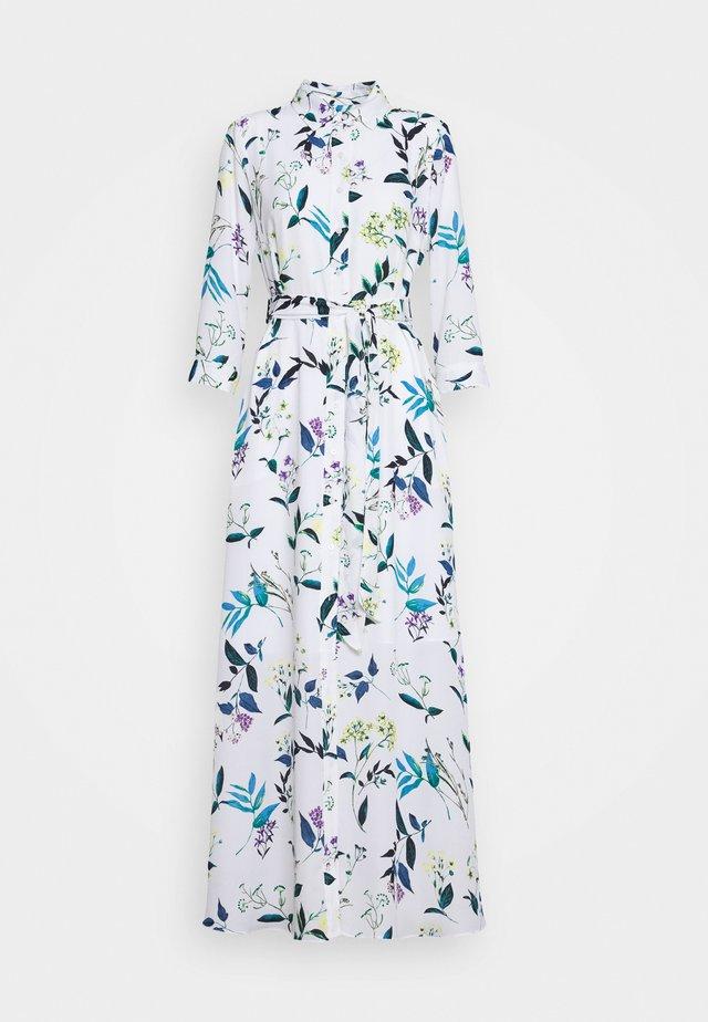 SAVANNAH PRINTS - Vestido largo - white