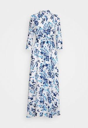 SAVANNAH PRINTS - Shirt dress - blue
