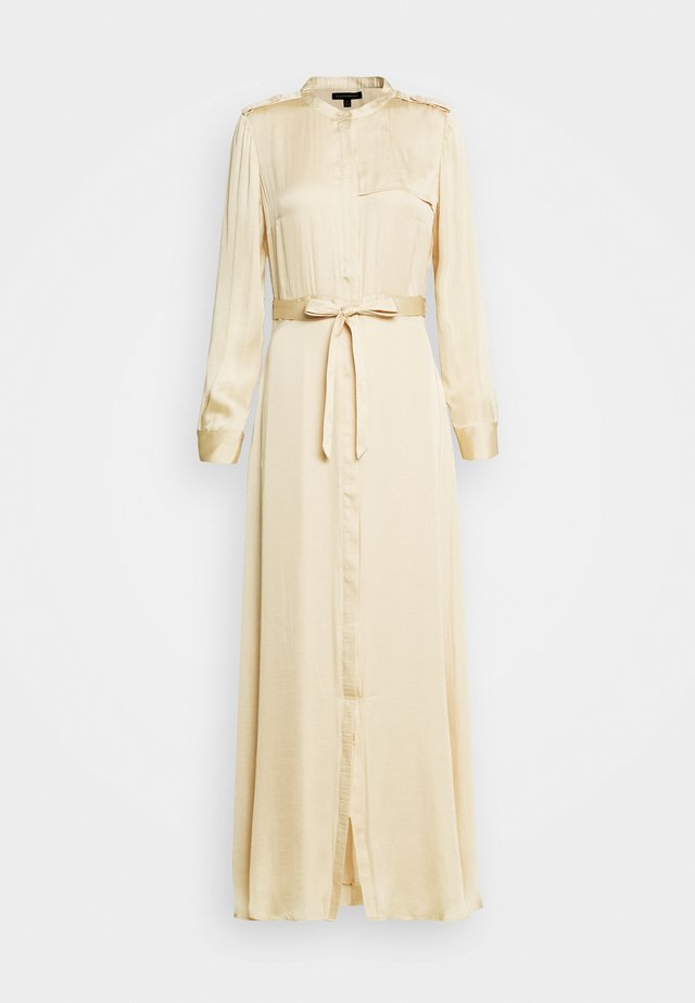 TRENCH MAXI DRESS - Maxi šaty - wheat