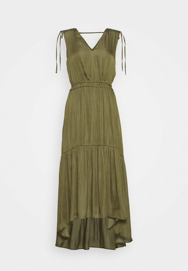 SOFT SOLID - Day dress - jungle olive
