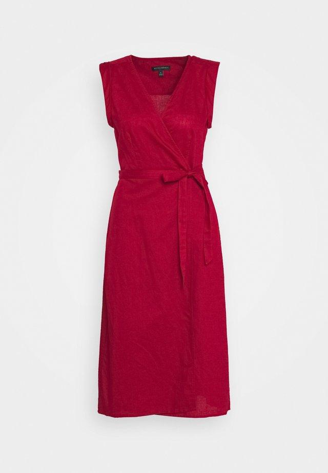 WRAP - Sukienka letnia - firebrick