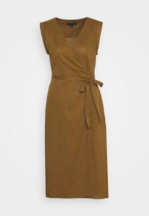 WRAP - Denní šaty - cindered olive