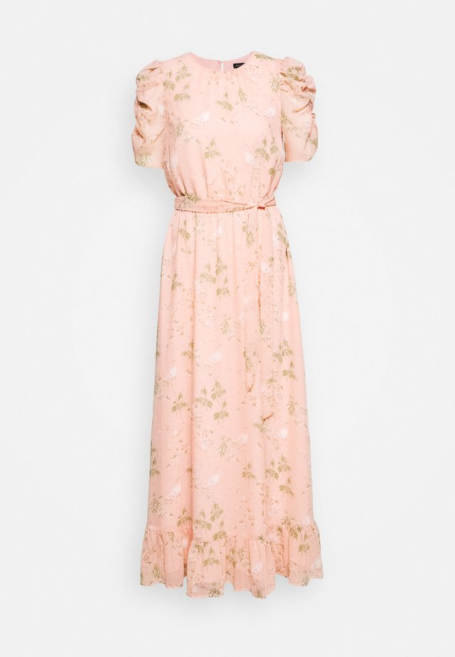SMOCKED MAXI - Abito da sera - light pink