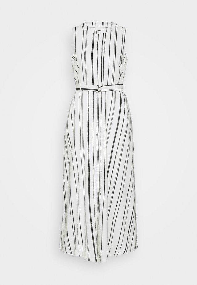 PRINTED DRESS - Maxikleid - white/black