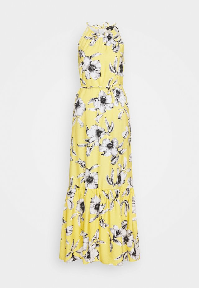 HALTER - Maxi dress - yellow
