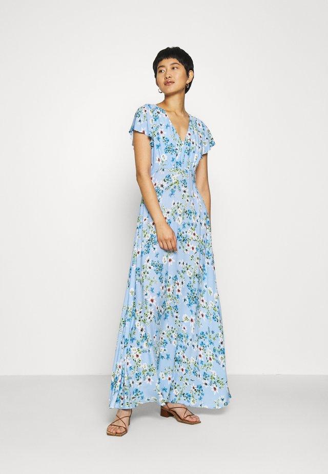 SPLIT - Maxi dress - light blue romantic
