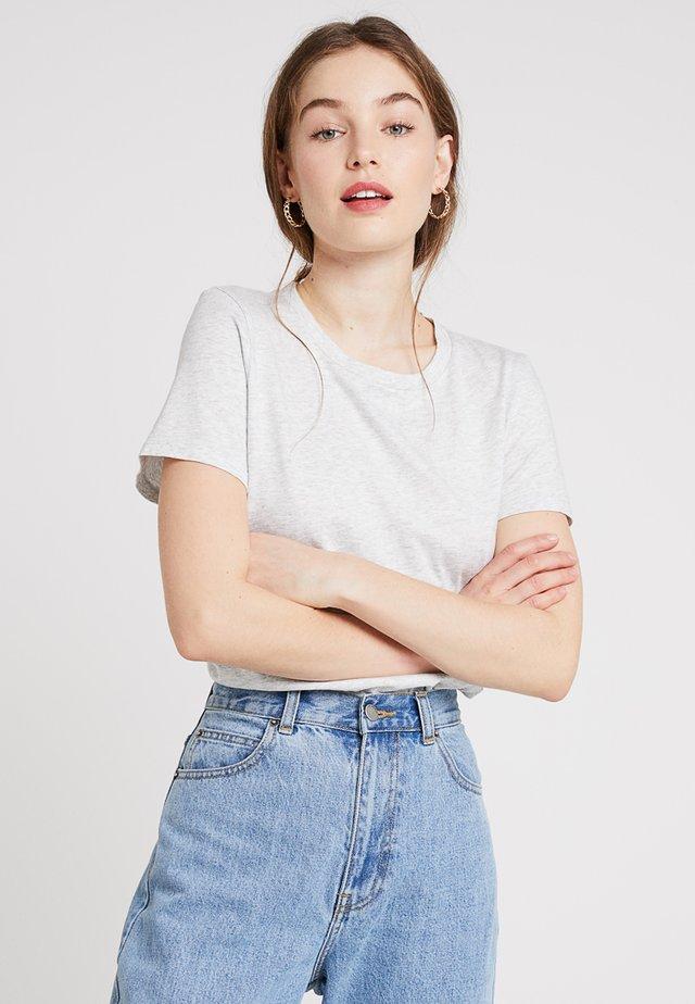 SUPIMA CREW RELAUNCH - T-shirt basic - light grey