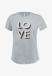 Banana Republic - CREW LOVE - T-shirt con stampa -  grey - 3