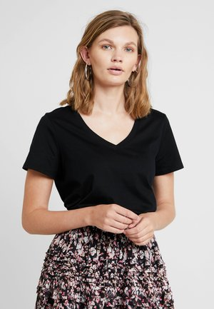 VEE RELAUNCH - Basic T-shirt - black