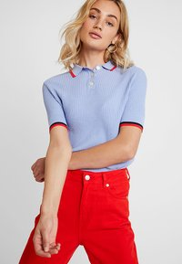 Banana Republic - TIPPED - Polo shirt - light blue - 3