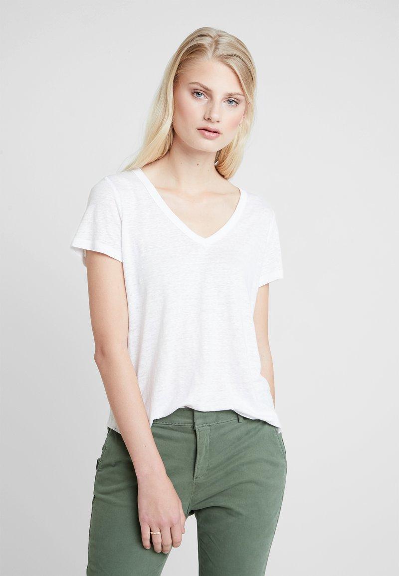 Banana Republic - VEE TEE - Basic T-shirt - white