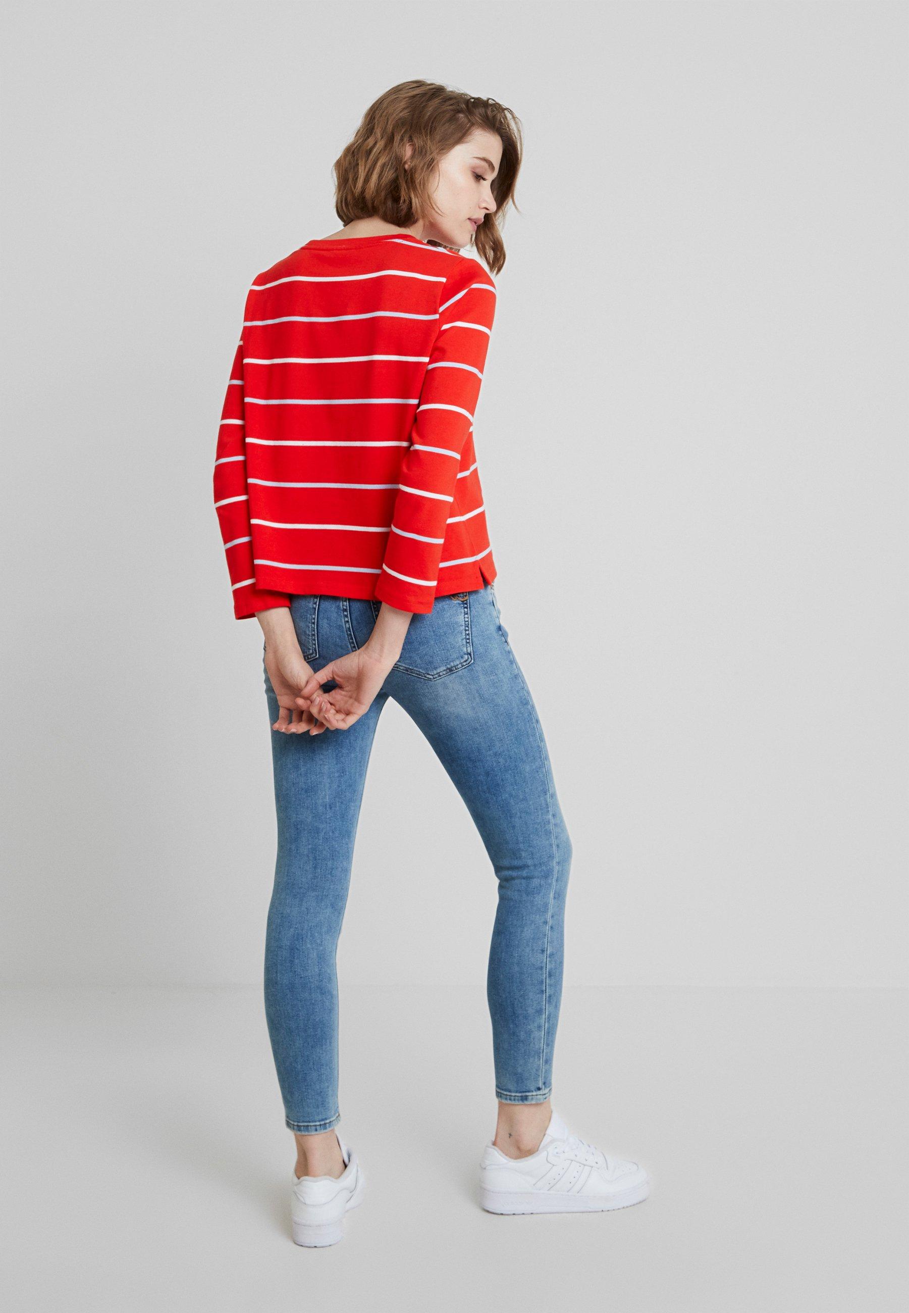 Banana Tee À Manches Red shirt Longues Skimmer StripesT Republic vwmN8nO0