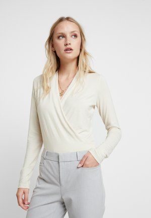 WRAP SOFT - Long sleeved top - new cream