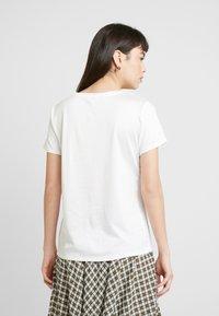 Banana Republic - ELEVATED TEE - T-shirt basic - white - 2