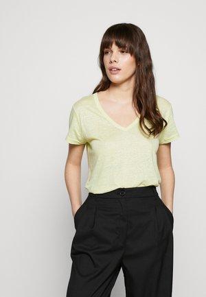 VEE TEE SOLIDS - Jednoduché triko - lemon lime