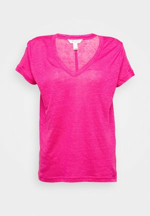 VEE TEE SOLIDS - T-shirt basique - fuschia