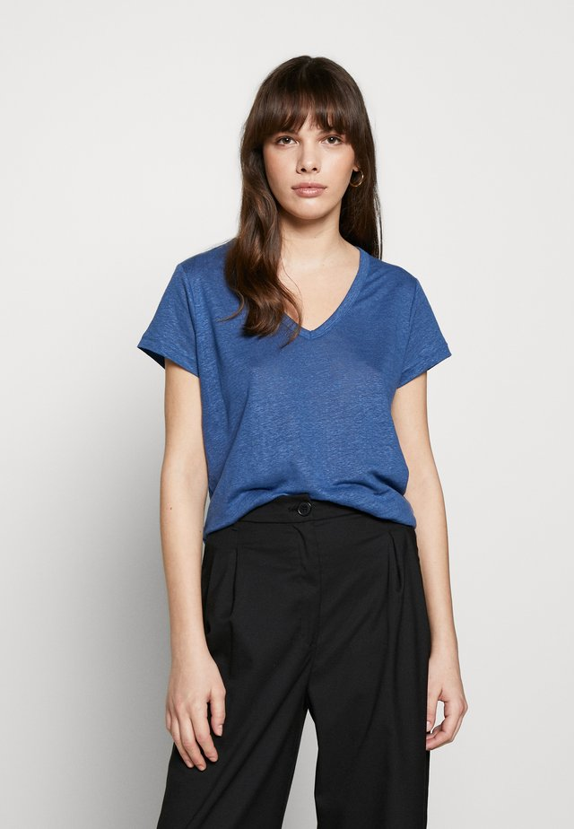 VEE TEE SOLIDS - T-shirt basique - indigo fog global