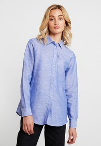 Banana Republic - DILLON SOLIDS - Camicia - chambray - 0