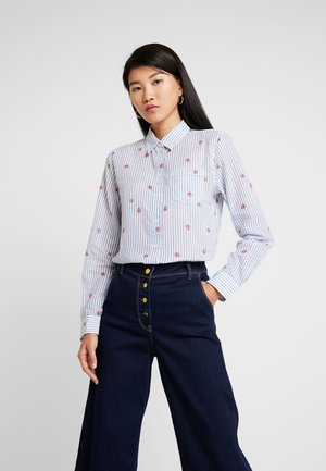 QUINN - Button-down blouse - strawberry delight