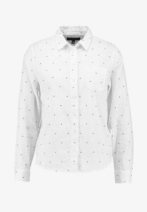 QUINN - Camicia - white