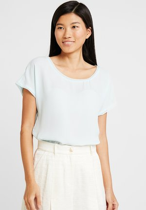 PICOT TRIM BLOUSE - Blouse - cool mint
