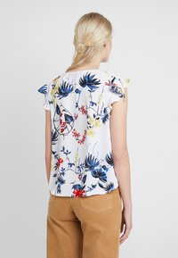 Banana Republic - RUCHED SHOULDER FLUTTER - Camicetta - paradiso tropical - 2