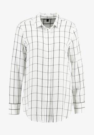 PARKER WINDOWPANE - Camicia - white