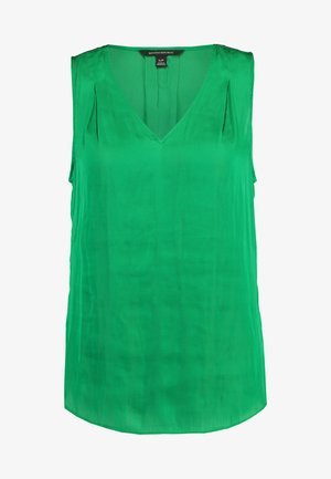 INVERTED PLEAT BLOUSE SOLIDS - Blouse - luscious green