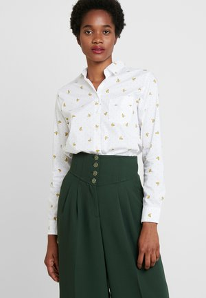 QUINN CONVERSATIONAL - Button-down blouse - cream
