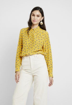 DILLON PRINT - Camisa - mustard yellow