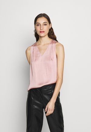 INVERTED BLOUSE SOLIDS - Camicetta - blush