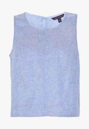 SHELL - Camicetta - chambray blue