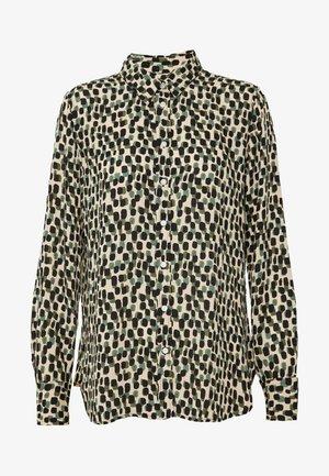 DILLON PRINTS - Camicia - beige