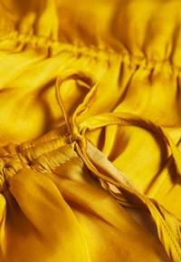 Banana Republic - RUCHED SHOULDER FLOUNCE - Camicetta - golden yellow - 2