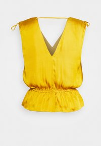 Banana Republic - RUCHED SHOULDER FLOUNCE - Camicetta - golden yellow - 1