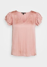 Banana Republic - SOFT RUFFLE - Camicetta - blush - 0