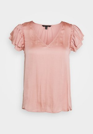 SOFT RUFFLE - Blouse - blush