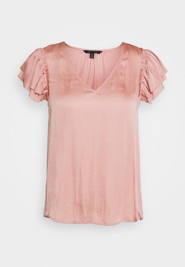 SOFT RUFFLE - Blouse - blush