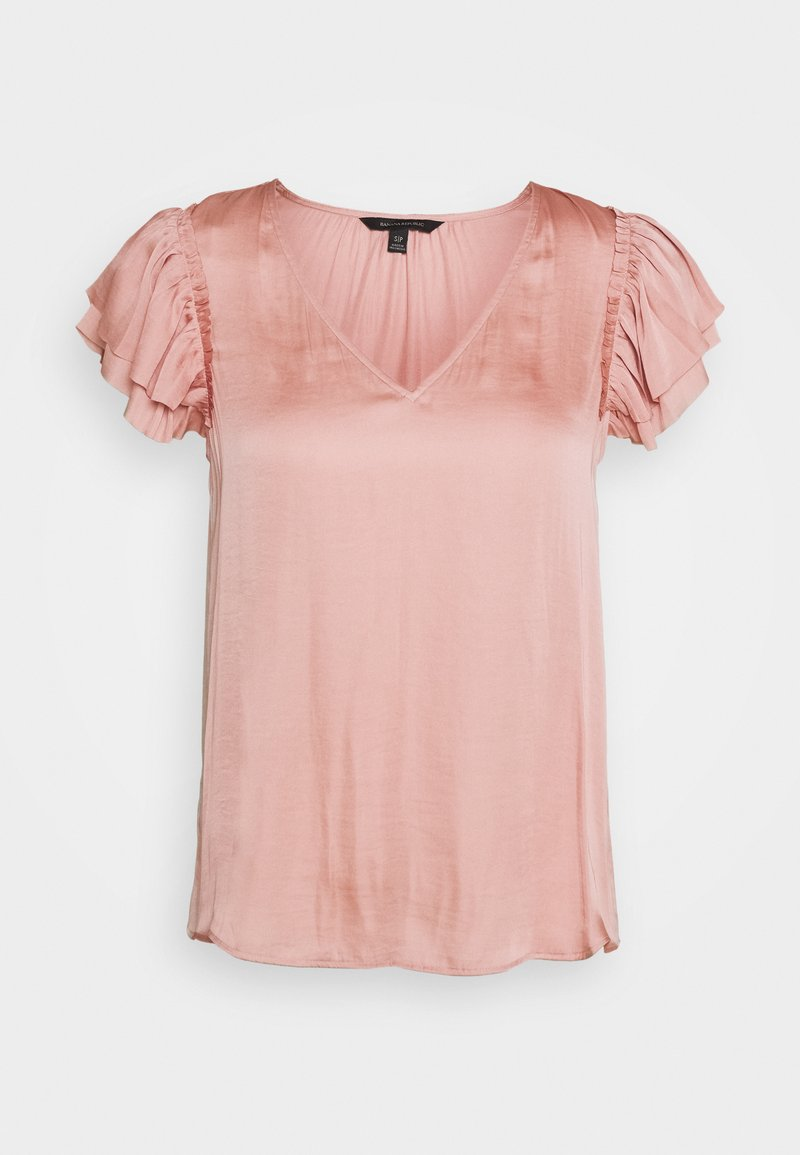 Banana Republic - SOFT RUFFLE - Camicetta - blush