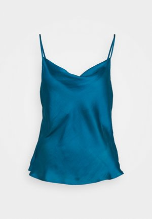 DRAPE FRONT CAMI SOFT - Top - underwater turquoise