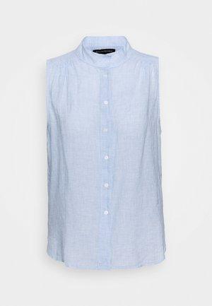 BUTTON UP - Button-down blouse - light blue