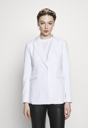 SCULPTED STRUCTURED SOLIDS - Blazer - vwhite