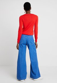 Banana Republic - CREW - Stickad tröja - reddish orange - 2