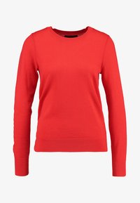 Banana Republic - CREW - Stickad tröja - reddish orange - 4