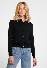Banana Republic - STRETCH CARDIGAN - Kardigan - black - 0