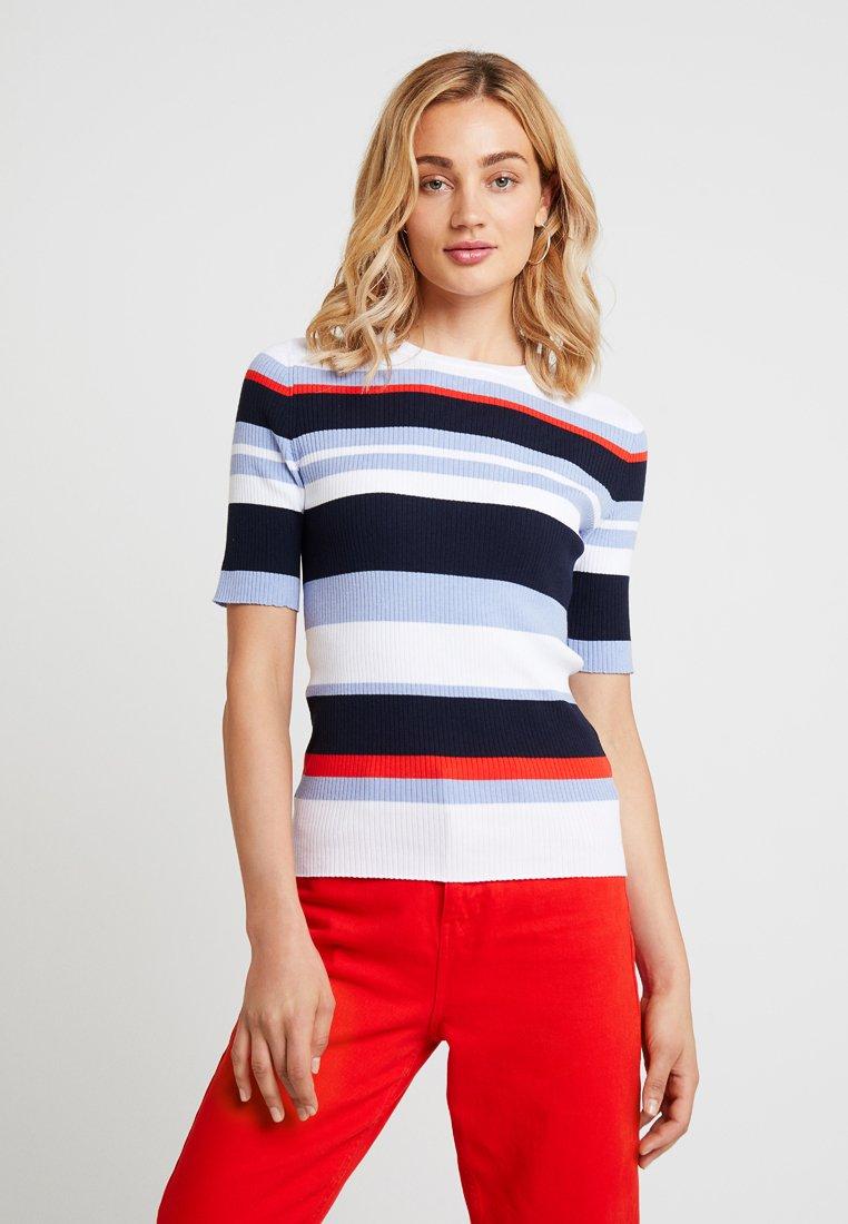Multi shirt Sleeve Imprimé Elbow StripeT Republic Banana sdCthrQ