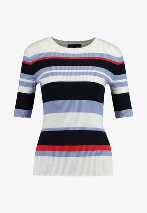 ELBOW SLEEVE STRIPE - T-shirt con stampa - multi