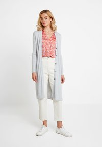 Banana Republic - BLEND DUSTER CARDIGAN - Cardigan - light grey heather - 0